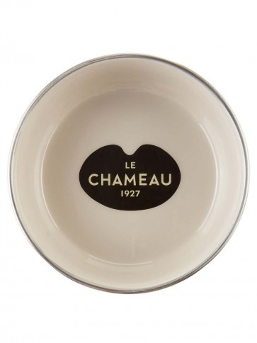 Le Chameau Stainless Steel Dog Bowl Cream