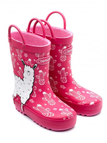 Chipmunks Llama Wellies
