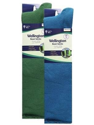 Men's Budget Twin Pack Welly Socks
