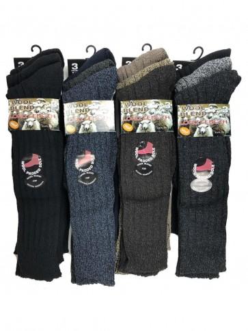 Men's 3 Pack Long Socks