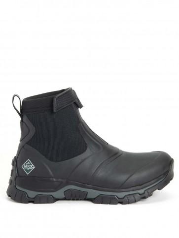 Muck Boots Men's Apex Mid Zip Black