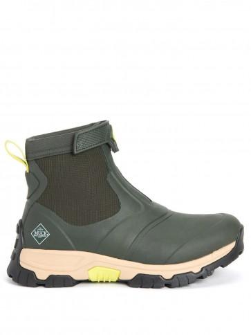 Muck Boots Men's Apex Mid Zip Moss