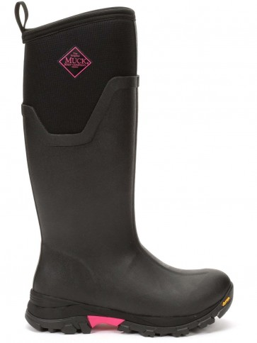 Muck Boots Women's Arctic Ice Tall Black/Pink