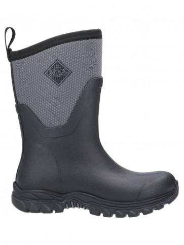 Muck Boots Women's Arctic Sport II Mid Black/Grey
