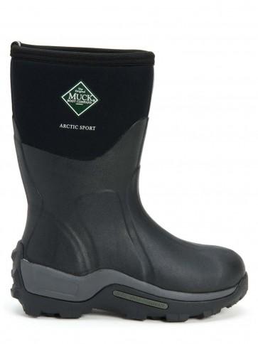 Muck Boots Men's Arctic Sport Short Black