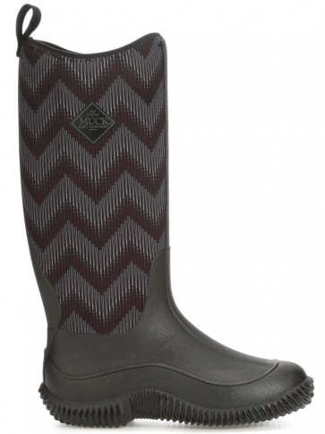 Muck Boots Women's Hale Black/Chevron