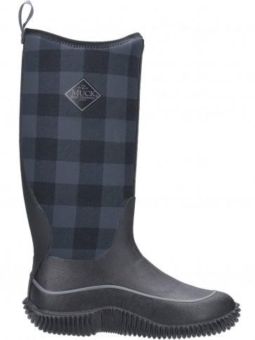 Muck Boots Women's Hale Grey Plaid