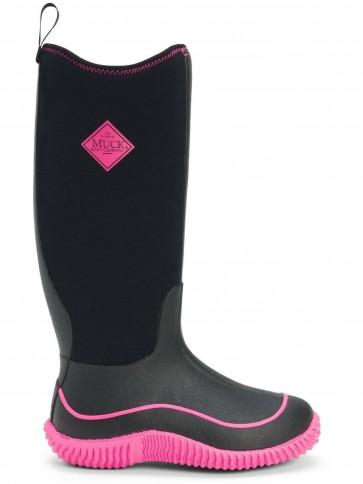 Muck Boots Women's Hale Black/Pink