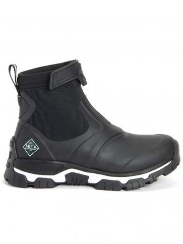 Muck Boots Women's Apex Mid Zip Black