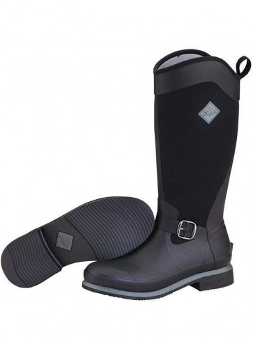Muck Boots Reign Tall Black/Gunmetal