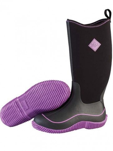 Muck Boots Women's Hale Black/Purple