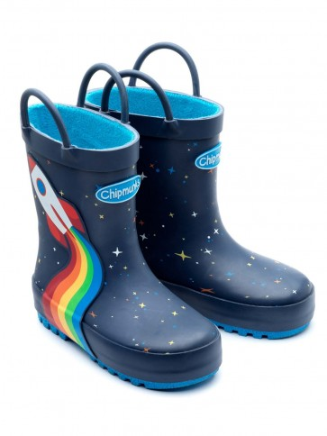 Chipmunks Orbit Rocket Wellies