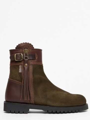 Penelope Chilvers Inclement Cropped Tassel Boot