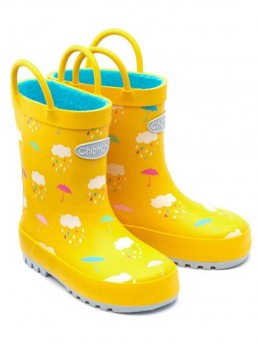 Chipmunks Raincloud Wellies