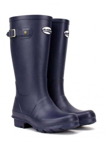Rockfish Kids Mini Me Wellington Matt Navy