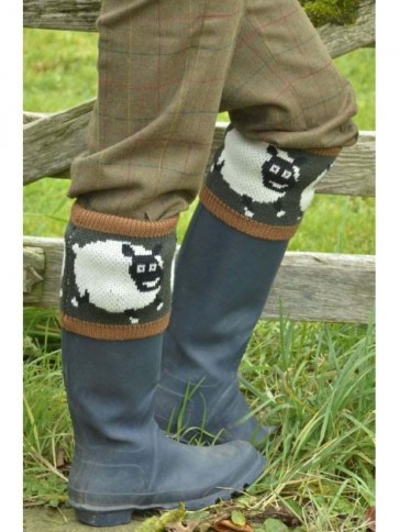 Country Character Shaun Sheep Socks