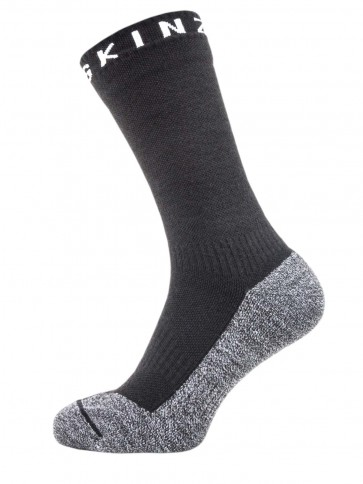 Sealskinz Solo Quickdry Mid Sock Black/Grey