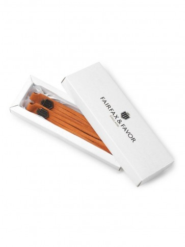 Fairfax and Favor Windsor Leather Tangerine Tassels