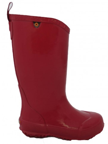 Bogs Welly Solid Red