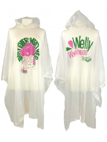Welly Warehouse Re-Usable Rain Poncho