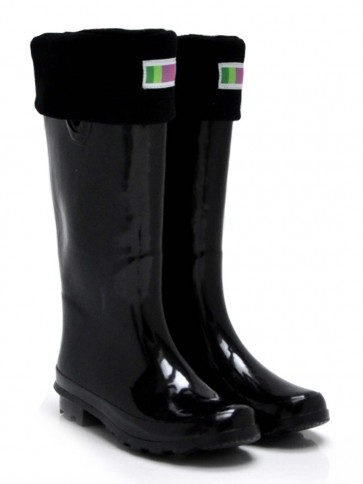 Welly Warehouse Black Welly Socks