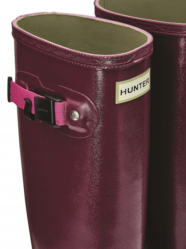 Hunter Norris Field Boot Loganberry