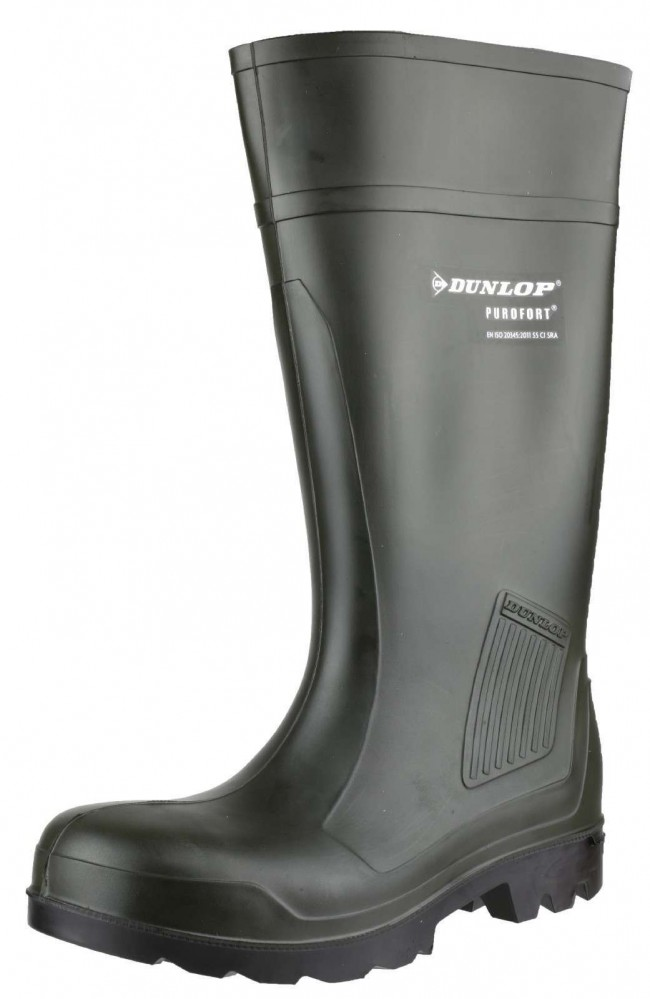 Dunlop Purofort Professional Full Safety Wellington Welly Wellies