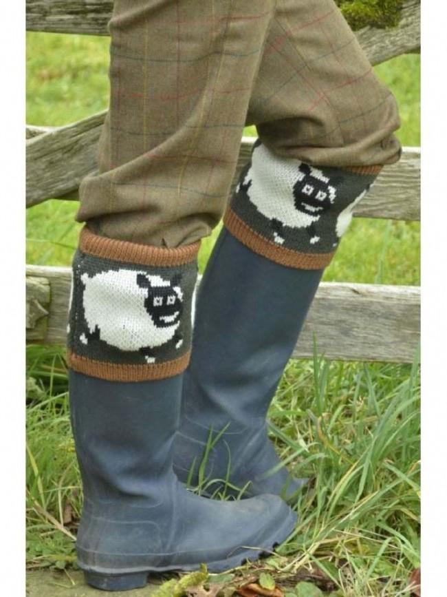 Country Character Shaun Sheep Socks