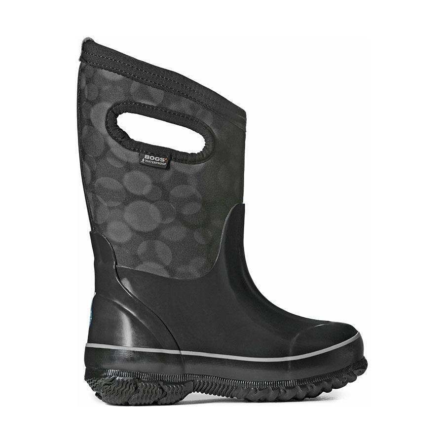Bogs Classic Rain Kids Insulated Black Multi Boots