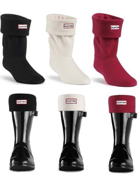 210bdd4adbf Hunter Short Welly Socks Fleece Wellie Boot Warmers