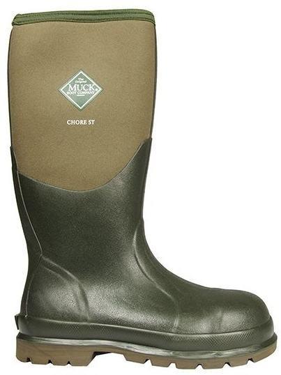 7d13cad60 Muck Boots Chore Steel Toe Moss