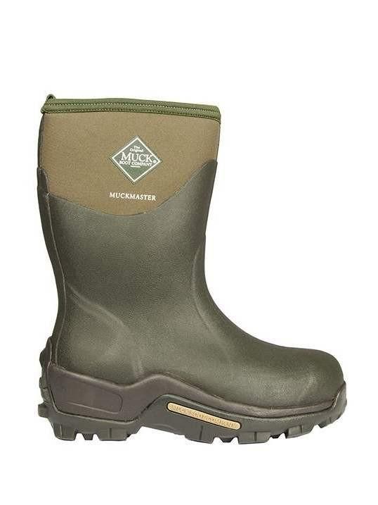 Muck Boots Muckmaster Mid Moss Short Wellies Men