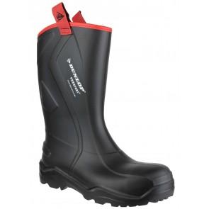 Dunlop Purofort+ Rugged Full Safety Black