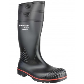 Dunlop Acifort Heavy Duty Full Safety A442031 Black