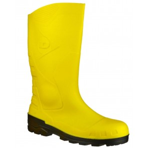 Dunlop Devon Safety Yellow