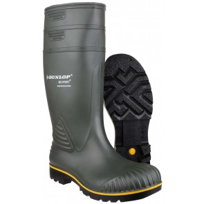 Dunlop Acifort Heavy Duty (Non-Safety) Green