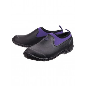 Muck Boots Women's Muckster II Low Black/Purple