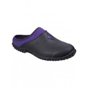 Muck Boots Women's Muckster II Clog Black/Purple