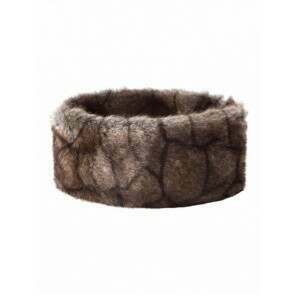 Dubarry Faux Fur Headband Elk