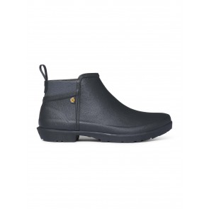 Bogs Flora Ankle Boot Black