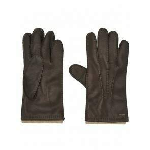 Dubarry Lisryan Men's Leather Gloves Mahogany