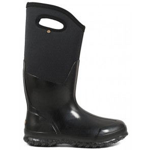 Bogs Ladies Classic High Black Shiny