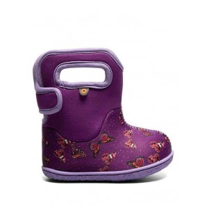 Baby Bogs Butterflies Wellies Violet Multi