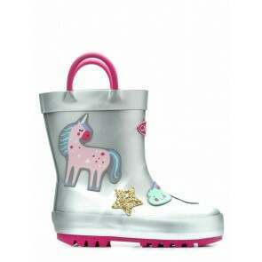 Chipmunks Fantasia Unicorn Glitter Wellies
