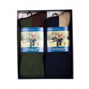 Dubarry Ballinlough Long Tech Sock Gift Set