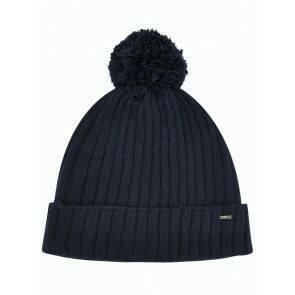 Dubarry Women's Stewart Bobble Hat Navy