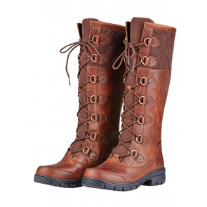 Dublin Fleet Boots Red Brown
