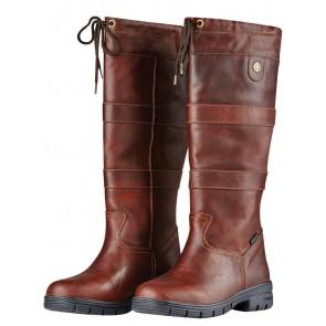 Dublin River Grain Boots Red Brown