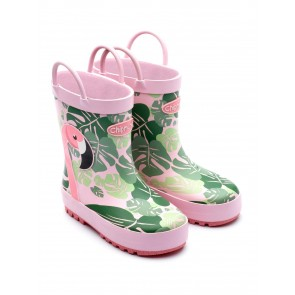 Chipmunks Flamingo Wellies