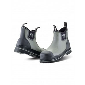 Grubs Ceramic Driver 5.0 Safety Ankle Boots Charcoal/Black